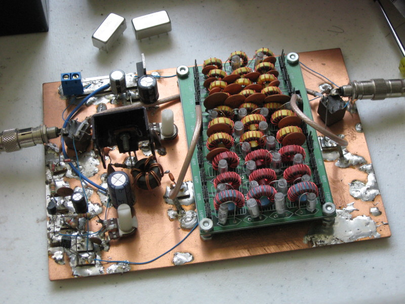 IRF510 HF Bands Power Amplifier